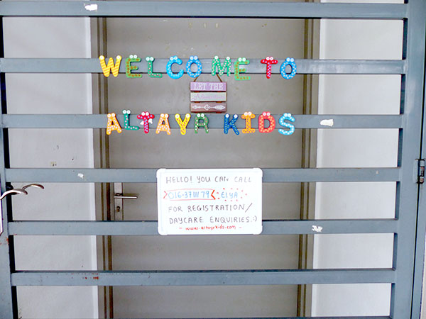 Altayrkids, Child Care & Development Centre, Putrajaya