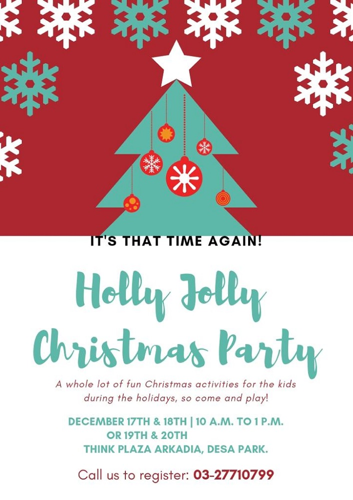 Think Holly Jolly Christmas Party