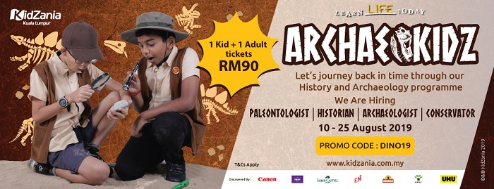 ArchaeoKidZ @ KidZania, Kuala Lumpur