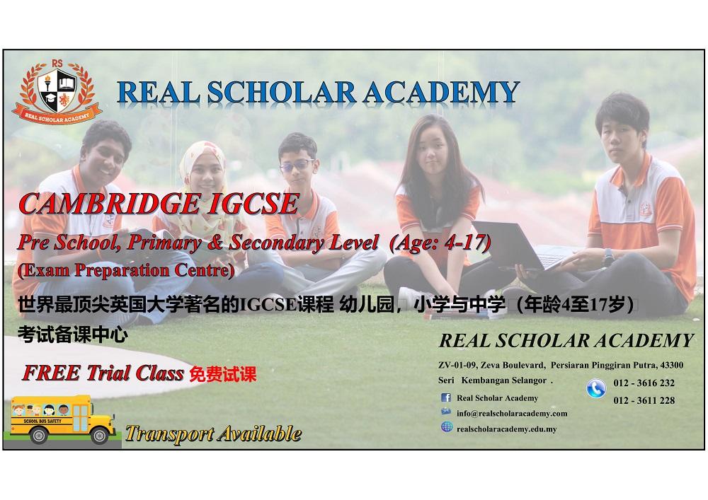 Real Scholar Academy