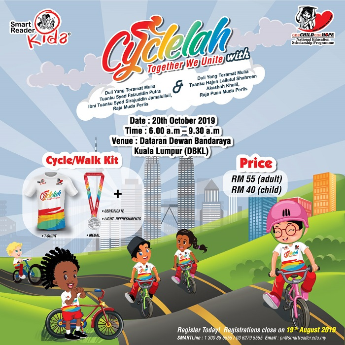 Smart Reader® Worldwide; Cyclelah @ Dataran DBKL