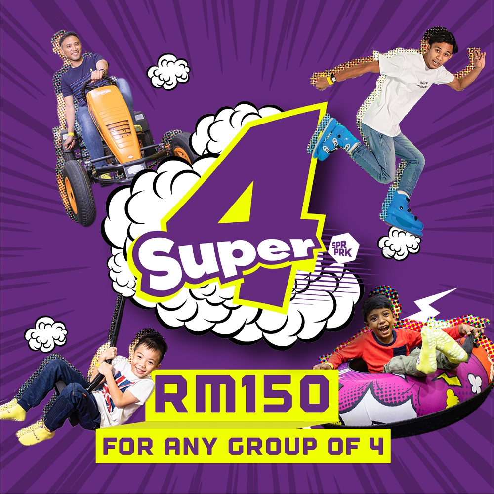 Super4 Limited Time Offer @ SuperPark Malaysia