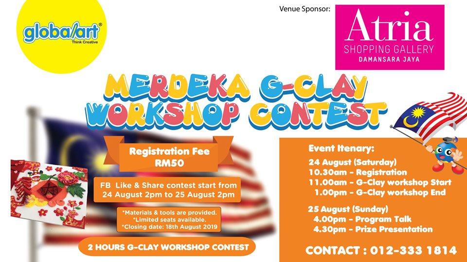 Merdeka G-Clay Workshop Contest