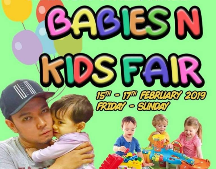 Babies & Kids Fair (15-17 Feb)