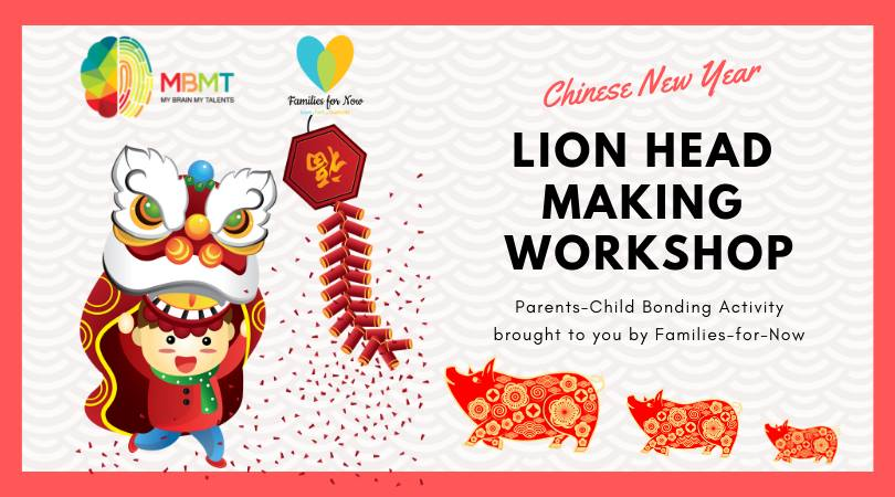 CNY Lion Head Making Workshop (17 Feb)