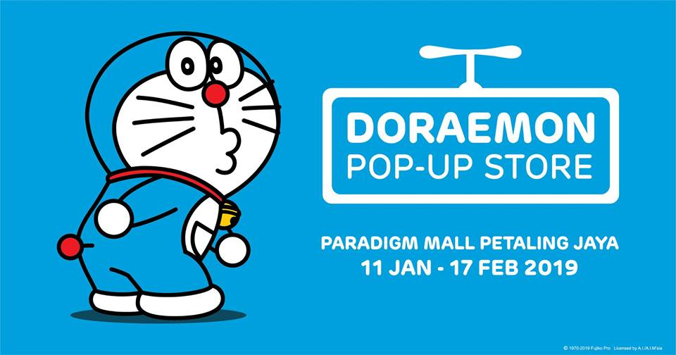 Doraemon Pop-up (1-17 Feb)