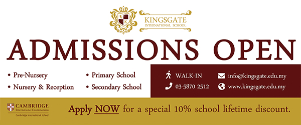 10% Discount at Kingsgate International School