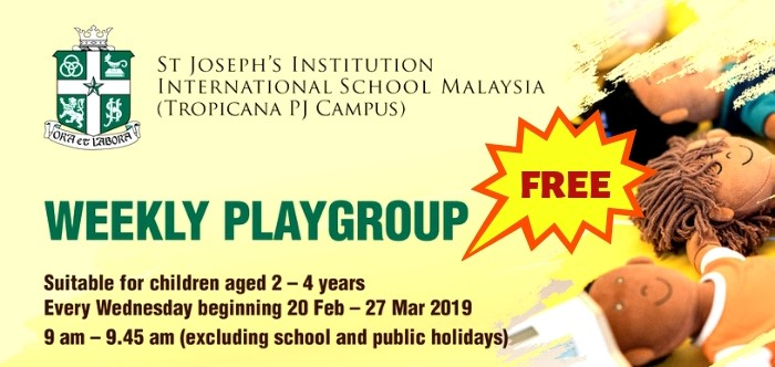St Joseph's Institution International School Playgroup