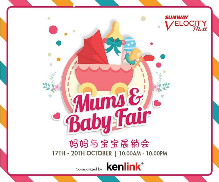 Mums and Baby Fair @ Sunway Velocity Mall