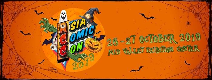 Asia Comic Con Malaysia 2019