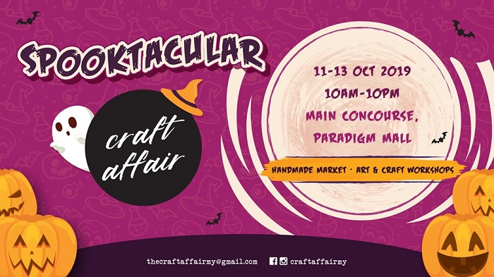 Spooktacular Craft Affair 2019 @ Paradigm Mall Petaling Jaya