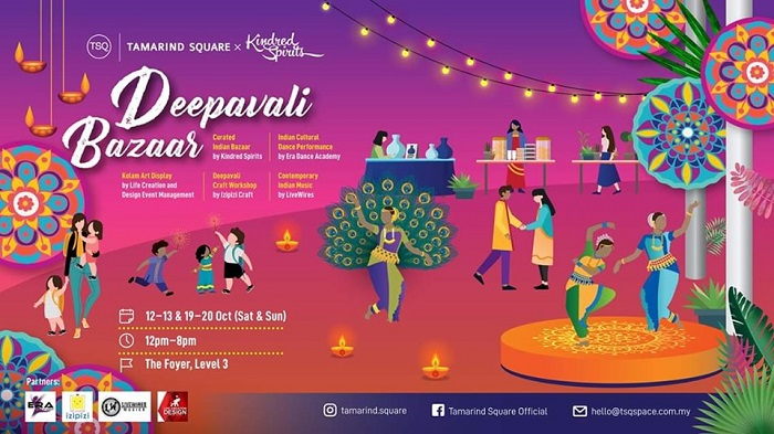 Deepavali Bazaar 2019 @ Tamarind Square