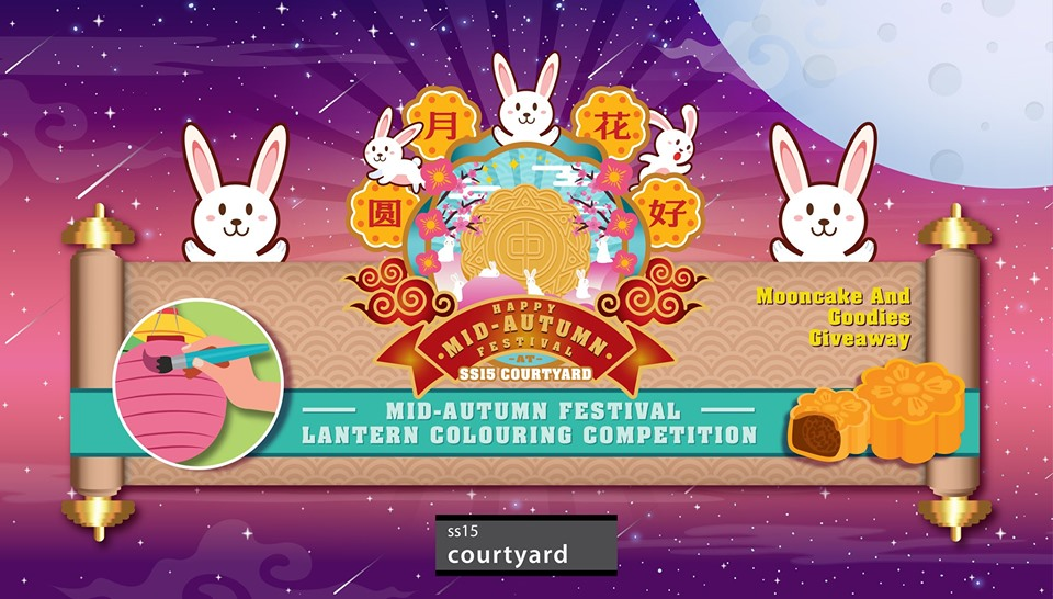 Mid-Autumn Festival - Lantern Colouring Competition