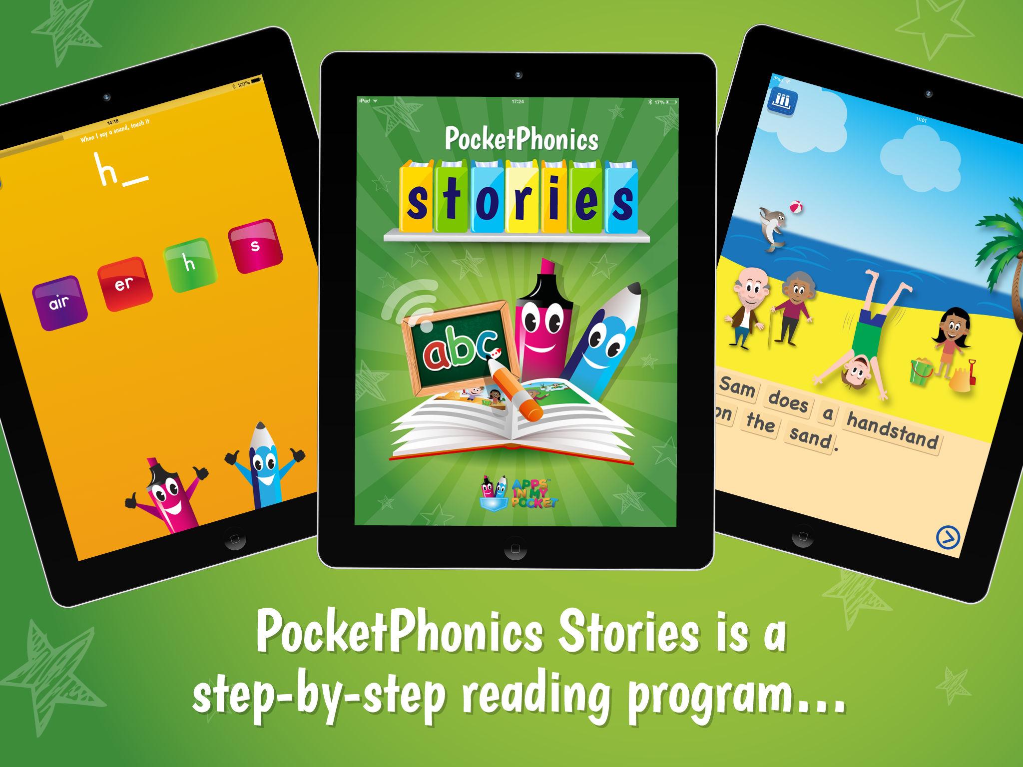 Pocket Phonics Stories