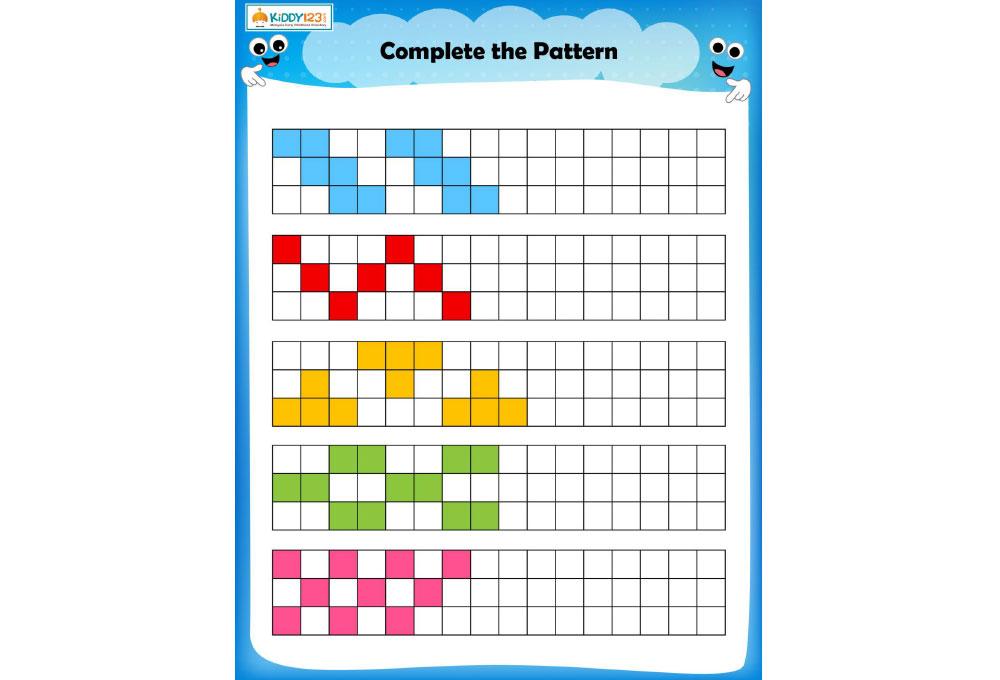 LOGIC & PUZZLES _ Square pattern