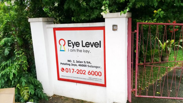 Eye Level - Jalan Gasing, Petaling Jaya