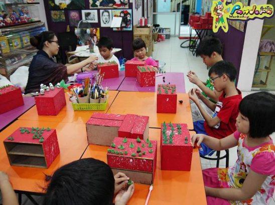 Pandora Artisto Workshop, Laman Rimbunan Kepong