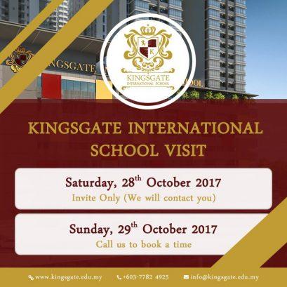 Kingsgate International School Open Day, Technology Park Bukit Jalil