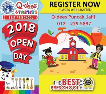 Q-dees Puncak Jalil Open Day
