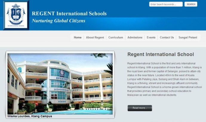 Regent International School - Klang