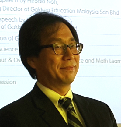 Gakken Education Malaysia Managing Director, Hiroaki Noh