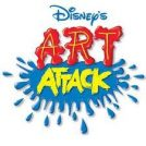 Disney Art Attack - Pop Up Card