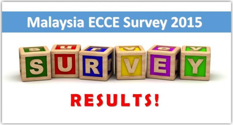 Results of the Malaysia Early Childhood Care & Education Survey 2015
