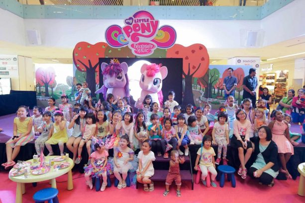 My Little Pony Celebrates the Magic of Friendship / Contributes to the Less Privileged