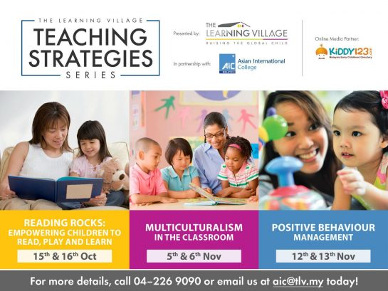 Teaching Strategies Series @ The Learning Village