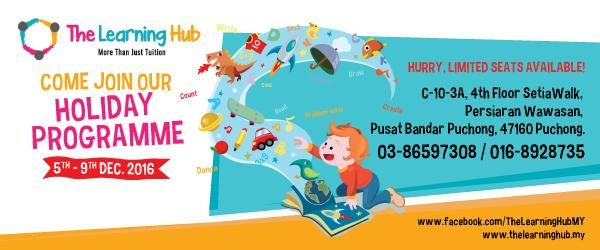 The Learning Hub's Holiday Programme