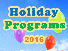 Year End Holiday Programs 2016