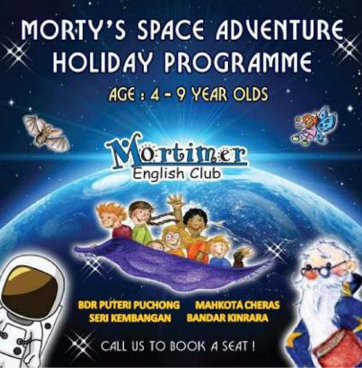 Morty's Space Adventure Holiday Programme @ Mortimer English Club