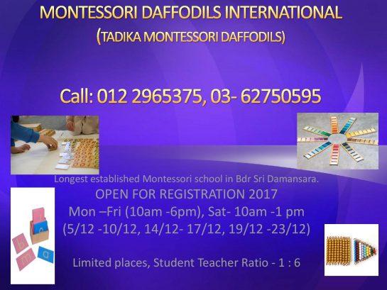 Open Day @ Tadika Montessori Daffodils