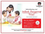 Infant Playgroup Trial @ TCH Bruas