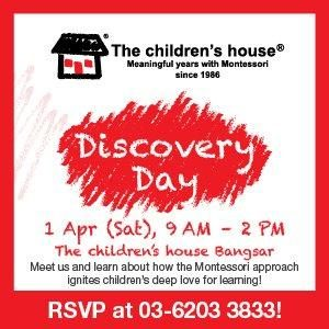 Discovery Day at The children's house Bangsar