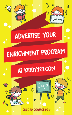 Advertise your Enrichment Program at Kiddy123.com
