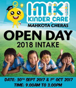 Imiki Kinder Care Mahkota Cheras Open Day