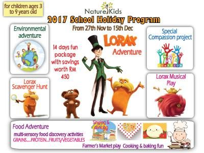 NatureKids School Holiday Program