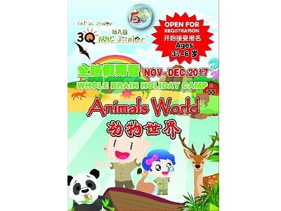 3Q MRC Junior Putra Heights - Animal World