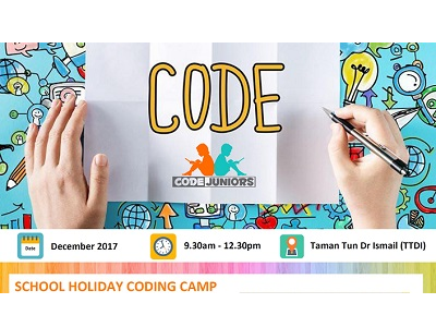 Codejuniors School Holiday Coding Camp