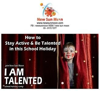 New Sun Moon I am Talented Holiday Program