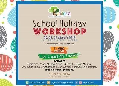 Kinderia School Holiday Workshop