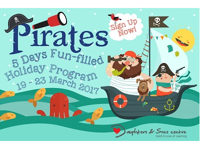 Pirates Holiday Program at Daughters & Sons Centre, Trillion KL