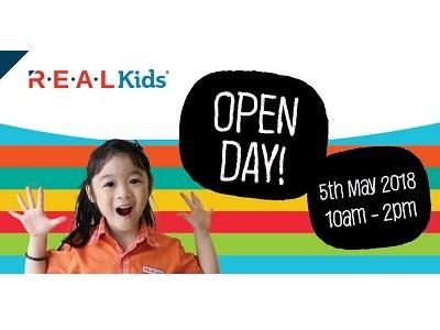 Real Kids Open Day