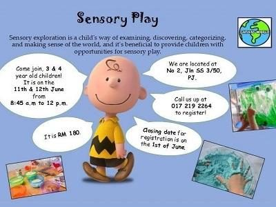Sensory Play @ Canvas World, Petaling Jaya