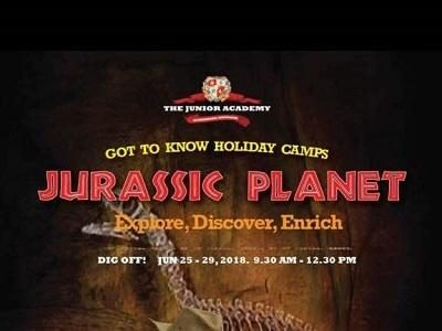 Jurassic Planet (Holiday Camp), The Junior Academy @ Solaris Mont Kiara