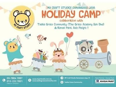 Holiday Camp @ My Craft Studio, Damansara Jaya