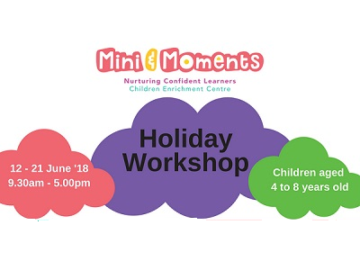 Mini & Moments Toy Factory Adventure Workshop and International Cultural Workshop
