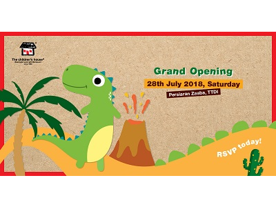 The children's house TTDI 2 Grand Opening