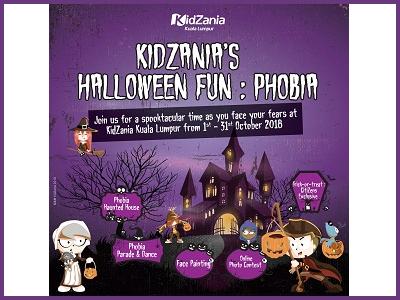 KidZania Halloween Fun: Phobia